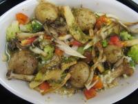 魚介のガーリックオリーブオイル煮