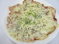 カリカリポテトのチーズたっぷりピザ