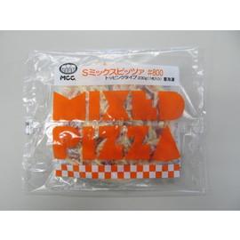 【冷凍】 業務用 MCC Sミックスピッツァ♯800 トッピングタイプ 230g(1枚入り)