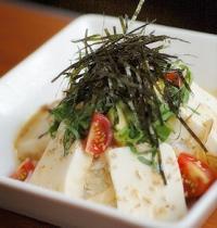 レシピ(豆腐)